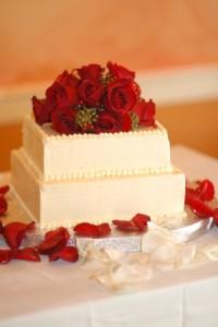 Virginia Elopement Wedding Cake