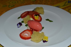 Strawberry Lime Sorbet Recipe