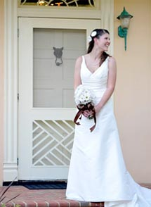 Bride at a Virginia Wine Country Wedding