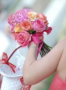 Wedding Flowers at a Virginia Wedding