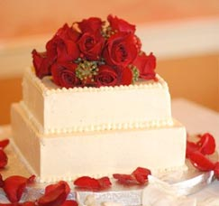 Pastry Chef Virginia Wedding Cake