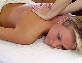 An in room massage