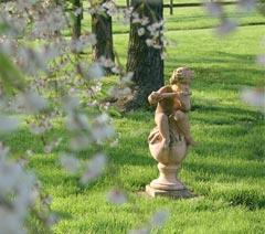 Monet Garden at L'Auberge Provencale