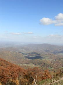 Virginia Activities - Beautiful mountain views