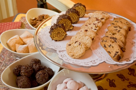 Christmas In France Tradition.French Christmas Traditions Desserts At L Auberge Provencale