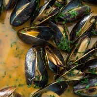 Mussels for dinner