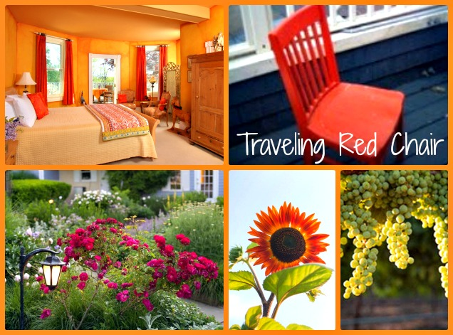 Traveling Red Chair Coming to L'Auberge Provencale Inn