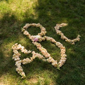 Floral Monograms for Weddings