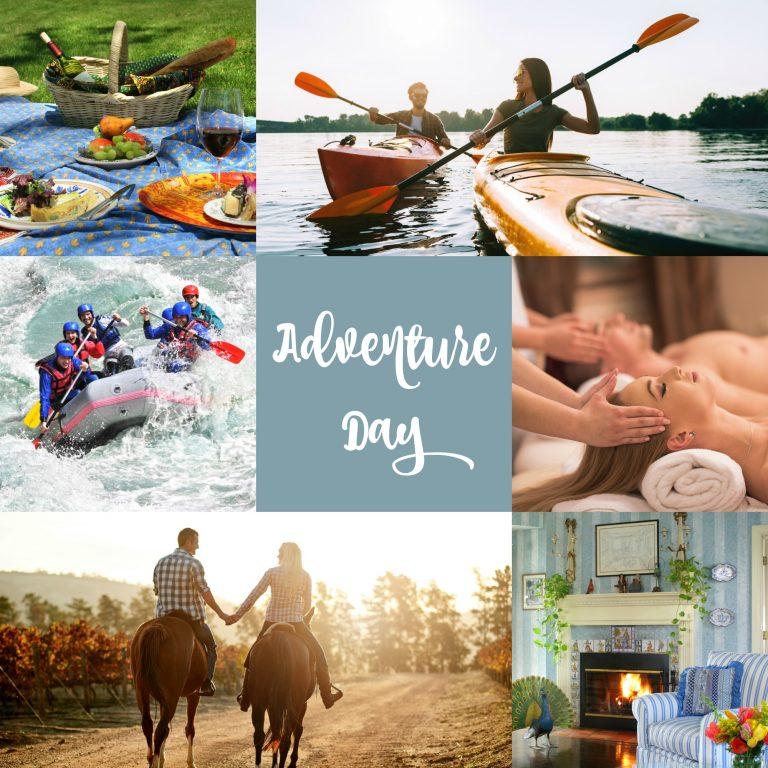 Adventure Day including kayaking, horseback riding and more