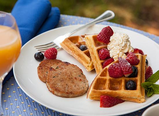 L'Auberge Provencale Breakfast