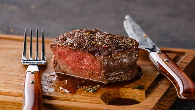 Glen Manor Wine Dinner -Steak