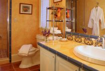 Josephine Room bathroom at our Shenandoah Valley Bed and Breakfast