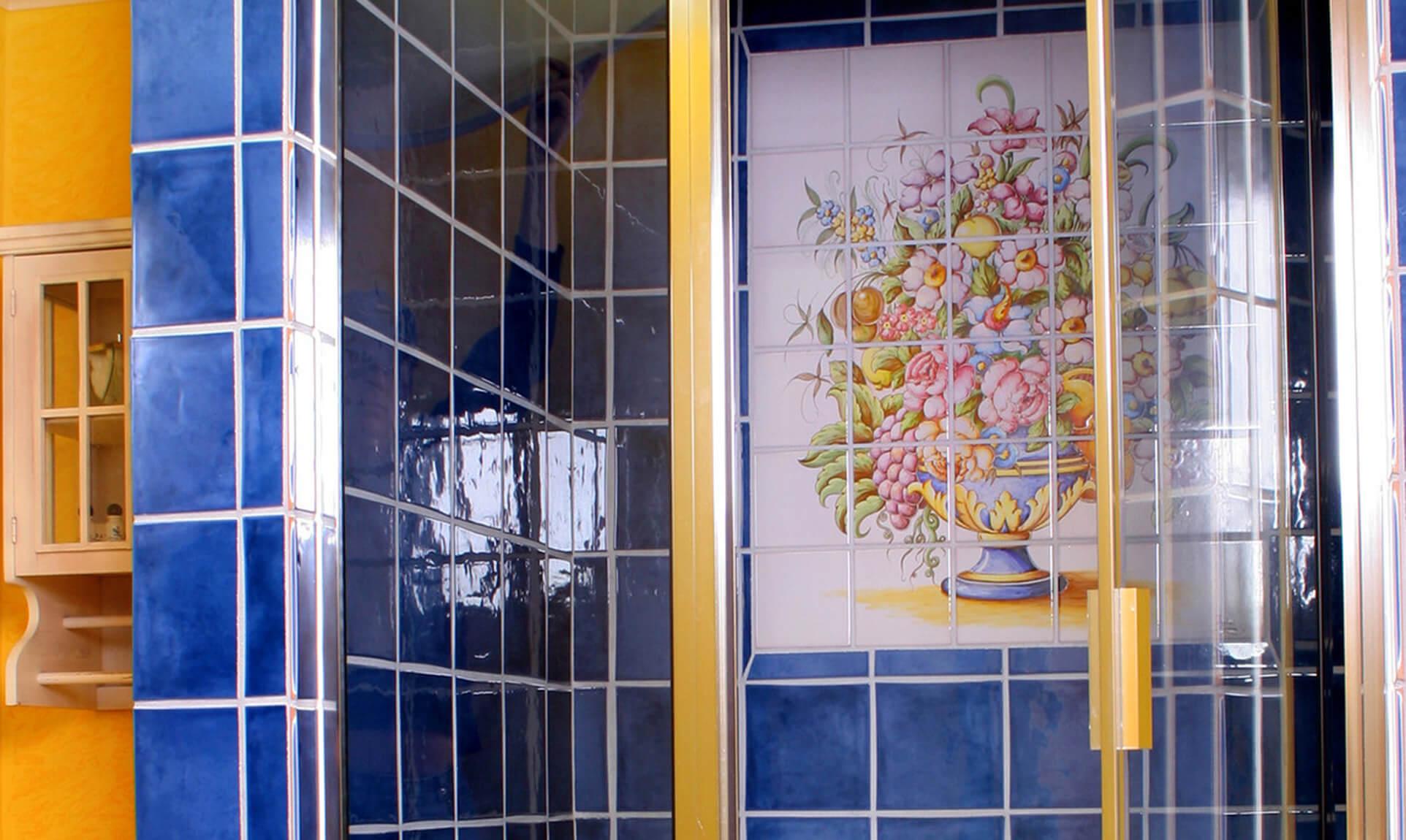 Louis XIV Suite bathroom at our Virginia B&B