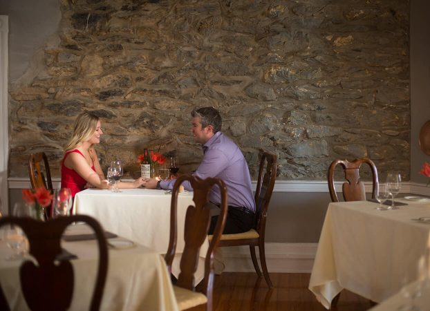 Couple dining at Dining at one of the best restaurants in Northern Virginia