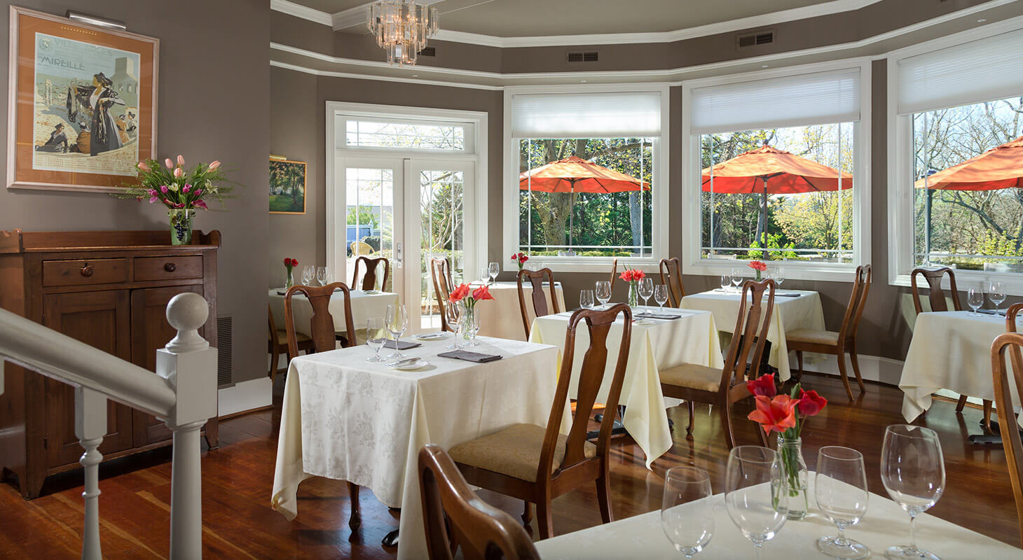 Dining room at our Virginia restaurant
