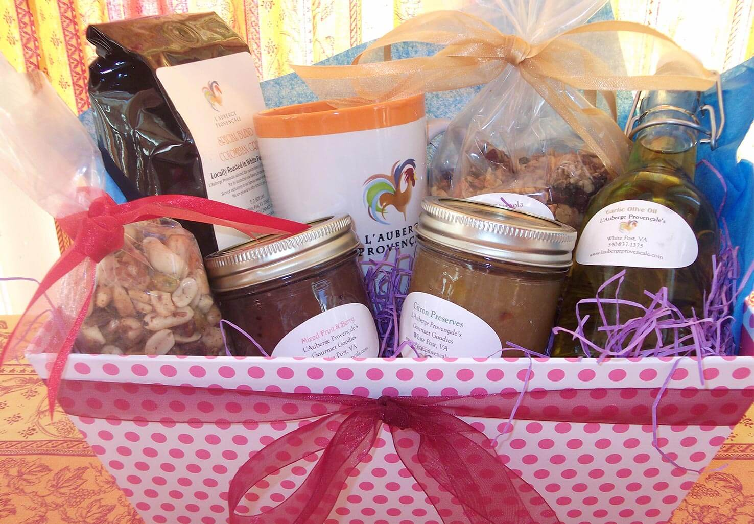 Gift Basket for Foodies