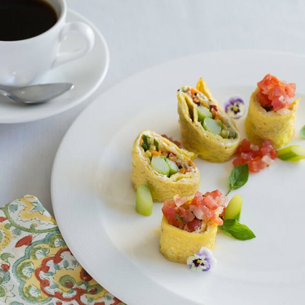 Gourmet Breakfast at L'auberge Provencale Bed and Breakfast
