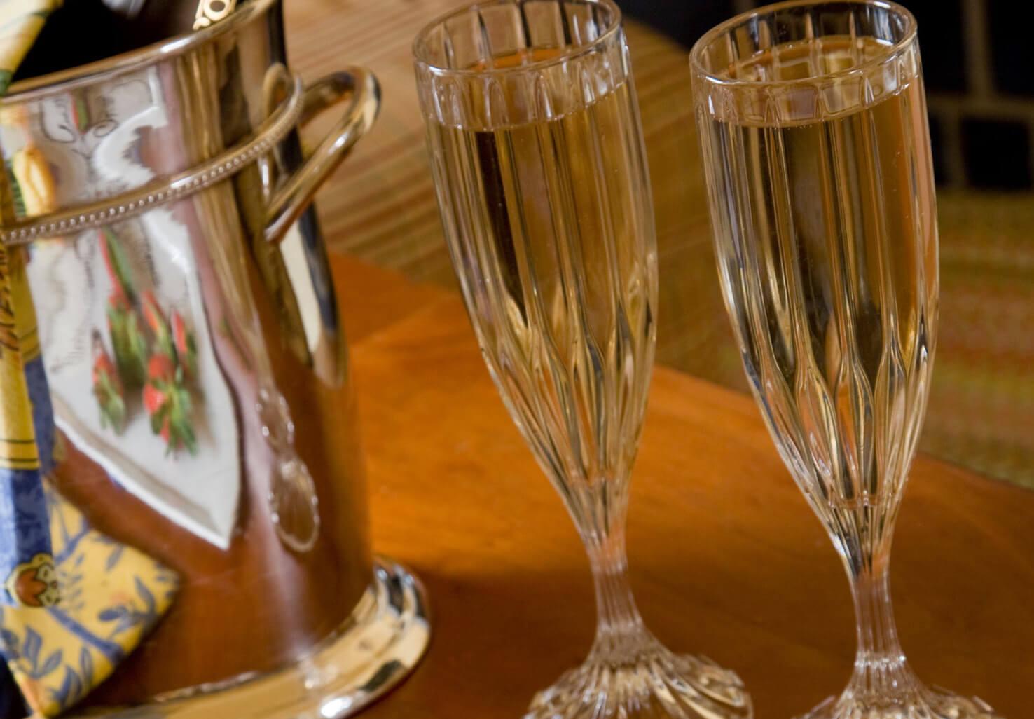 Champagne & Keepsake Flutes