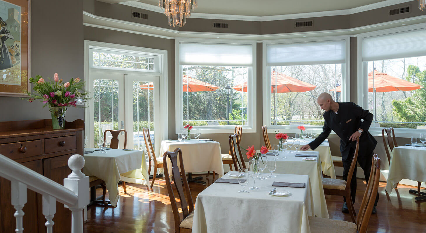 Dining Room at our Virginia retreat venue