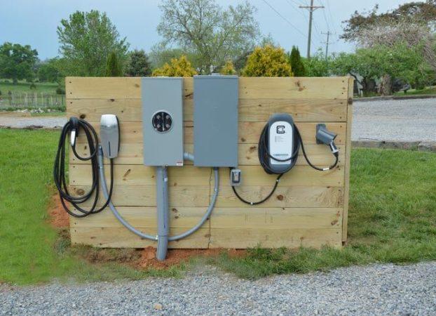 Electric Car Charging Station - for Tesla, Volt, etc.