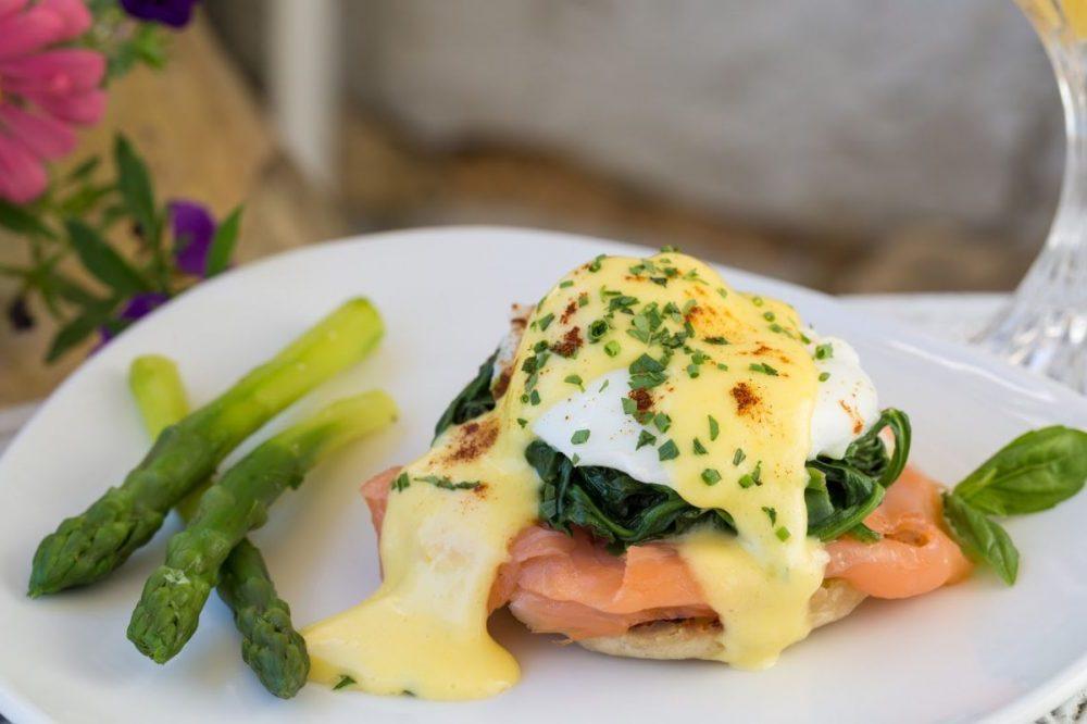 Eggs Benedict from Our Virginia Restaurant & Inn