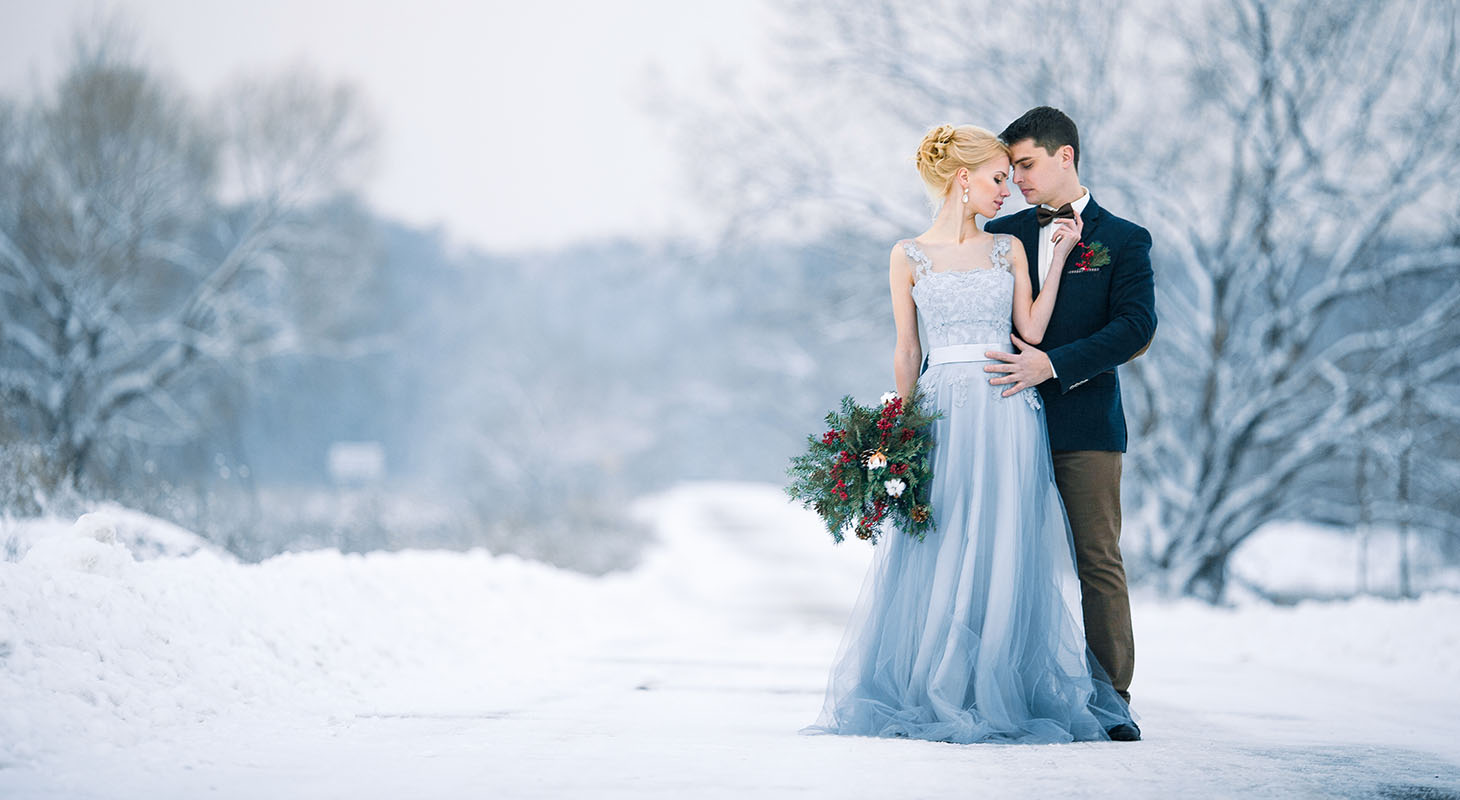 Stunning winter wedding in Virginia
