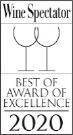 Wine Spectator Best Award of Excellence 2020