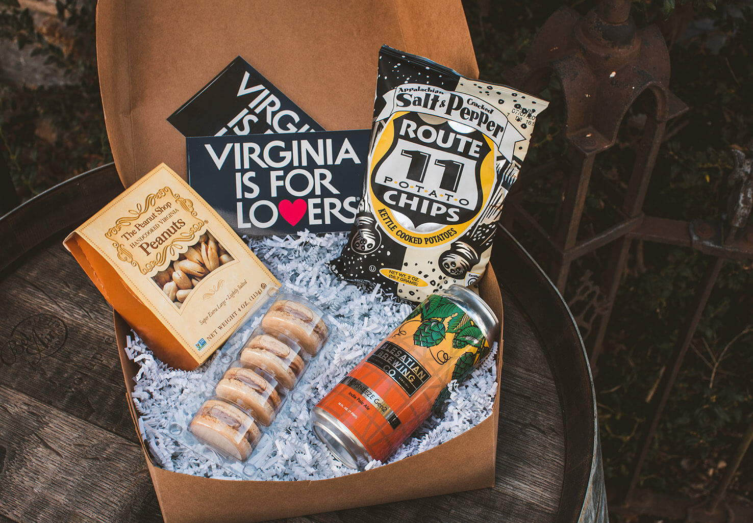 Shenandoah Getaway Virginia Welcome Snack Box