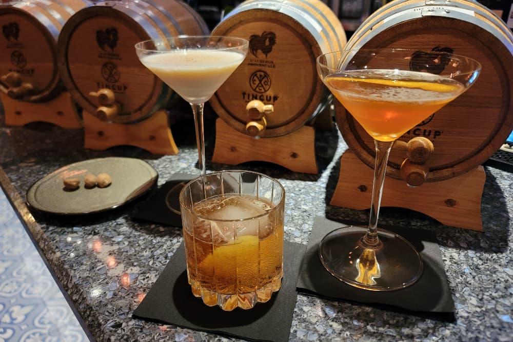 Boulevardier Bourbon Drinks in Northern VA